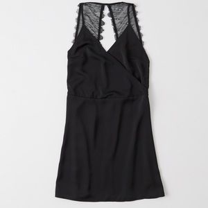 NWT Abercrombie & Fitch faux wrap backless dress